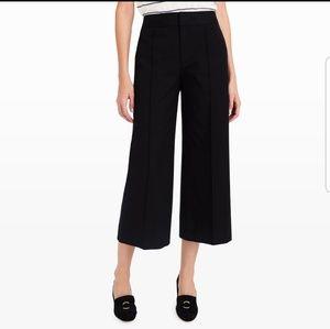 Club Monaco black trouser culottes